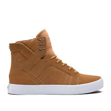 Supra skytop Brown/yellow-white shoe chaussures taille 40 - 43