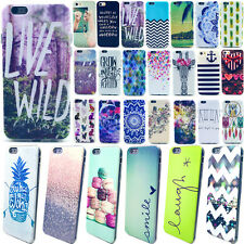 Ultra Thin Soft Rubber TPU Paint Pattern Back Case Cover For iPhone 4 5 6 6Plus
