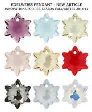 Genuine SWAROVSKI 6748 Edelweiss Crystals Pendants * Many Colors & Sizes