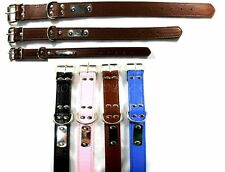 Strong Dog leather Collar, Adjustable Collar Small, Medium & Large Size