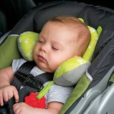 Car House Baby headrest Baby Head Support Headrest Travel Seat Pillow Lion Frog