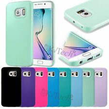 Ultra Thin TPU Silicone Rubber Gel Back Case Cover for Samsung Galaxy S6 edge