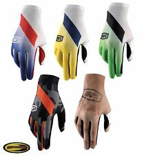 100% Celium Motorcycle Riding Gloves Dirt Bike Mx Atv Off Road