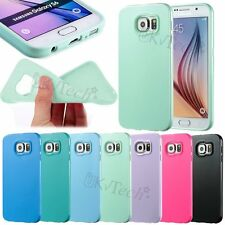 Ultra Thin Soft TPU Silicone Rubber Gel Back Case Cover for Samsung Galaxy S6