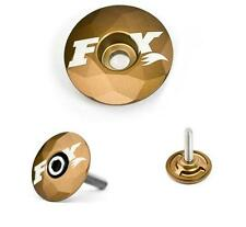FOX Kashima GOLD Mountain + ROAD BIKE Headset Top Cap-EDIZIONE LIMITATA