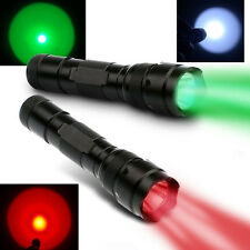 Ultrafire WF-502B Green/White/ IR 850nm & 940nm/UV 395nm /365nm LED Flashlight