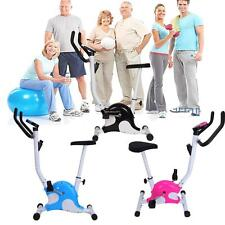 Exercise Bike Folding Stationary Bike Fitness Cardio Workout Weight Loss Machine
