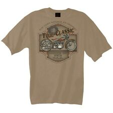 T-SHIRT WITH HARLEY DAVIDSON MOTORCYCLE PRINT MODEL TRUE CLASSIC