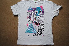 PARAMORE SPLASH T SHIRT NEW OFFICIAL RIOT BRAND NEW EYES GROW UP RIOT! DECODE
