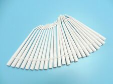 "Dental Surgical Aspirator Suction Tips standard orifice 6 1/2"" long White 25pcs"
