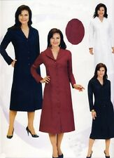Womens Church Uniform Usher Ministry Group Dress With Praying Hands on Collar
