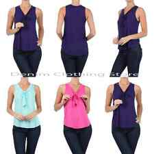 1 New Fashion Womens Summer Vest Top Sleeveless Blouse Casual Tank Tops T-Shirt