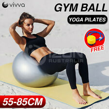 SGS BALL YOGA HOME GYM EXERCISE FITNESS PILATES  BALL 55 65 75 85cm