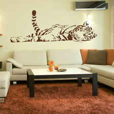 TIGRE BENGALA BIG CAT muro adesivo / Lage Interior DECOR BIG CAT trasferimento CA27