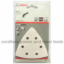 10 Bosch PAINT Velcro Sanding Sheets Mixed Grit PMF 190 E Multi Tool 2608607542