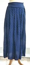 Beautiful italian soft and silky spotty skirt /sundress