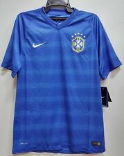 BNWT BRAZIL AWAY WORLD CUP KIT FOOTBALL SOCCER JERSEY TRIKOT 2014