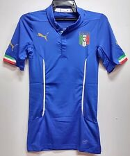 BNWT ITALY AUTHENTIC + GIFT BOX/CASE HOME WORLD CUP FOOTBALL SOCCER JERSEY 2014