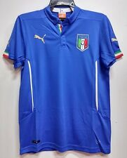 BNWT ITALY HOME WORLD CUP YOUTH KIDS BOYS FOOTBALL SOCCER JERSEY 2014