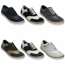 CROCS MENS PRESTON SPIKELESS GOLF SHOES - NEW SUMMER LIGHT SPORT LEATHER