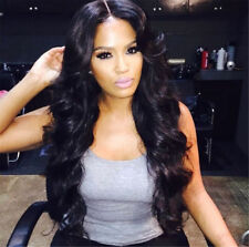 Soft  Malaysian Lace Front /Full lace wigs 100% human Remy Hair wave 4 colors