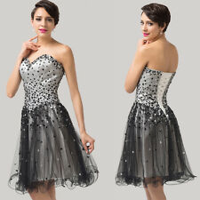 Prom Girls Teen Beaded Short Formal Cocktail Evening Party Ball Gown Party Dress