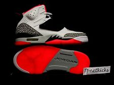Nike Jordan Son Of Mars 512245-105 White/Black - Hot Lava BRAND NEW