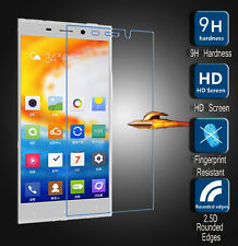 5x 3x For Gionee Elife E7 GN9002 Real Tempered Glass Film Screen Protector Cover