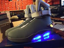 Back To The Future II LIGHT UP Shoes SNEAKERS Marty McFly Size
