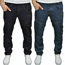 Twisted Faith Mens Designer Regular Fit  Jeans - Available in 2 Colours BNWT