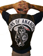 Sons Of Anarchy Vest with Patches