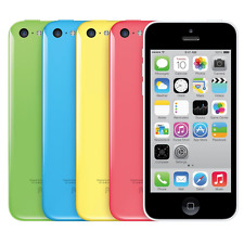 Apple iPhone 5c - 32GB (Unlocked) Smartphone - White Blue Green Pink Yellow
