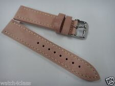 Vintage style HQ Genuine leather pink color strap.band.bracelet 20mm or 20mm~new