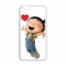 Custom Despicable Me Minions Agnes Heart For iPhone 6/6S 7 Plus iPod Case Cover