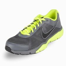 New! Nike Mens Dual Fusion TR 3 Running Shoes-512109-003-Gray/Volt-Black  77C