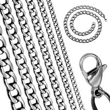 1 Chain Necklace or Bracelet Link Unisex Jewelry Small Massive Stainless Steel