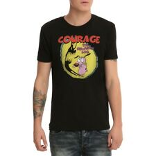 Courage the Cowardly Dog Shadow Logo T-Shirt New