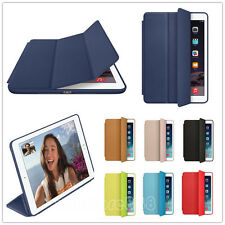 Magnetic Slim Leather Smart Case Cover Wake Protector For Apple iPad  Mini Air 2