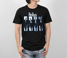 THE BEATLES ROCK 'N ROLL MUSIC BAND CLASSIC RETRO VINTAGE MEN TEE T-SHIRT S-XL