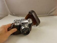 Zeiss Ikon Contaflex Super BC With Leather Case Tested SLR 35 MM Camera