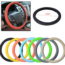 Silicone Skid Resistant Car Truck Steering Wheel Cover 33.5cm Size S
