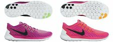 NEW MODEL WOMENS PINK NIKE FREE 5.0 RUNNING SHOES - ALL SIZES