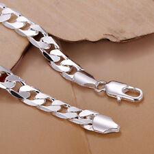 Exquisite Hot Silver Plated Fashion Cute Nice Men Chain Bracelet Jewelry New