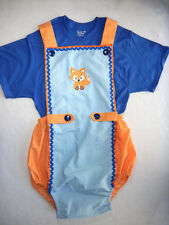 NEW DESIGN ~ HANDY ROMPER's ~ FOX  ~ Adult Baby Sissy Boy Dress Up Sun Suit