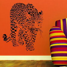 Grand léopard animal sauvage Big Cat Wall Sticker Mur Autocollant Big Cat transfert CA8