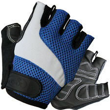 CC-UK '3Ride' Gel Cycle Cycling Gloves - Blue Bike Gloves RRP: $24.95