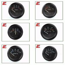 "2"" 52mm pointer boost vacuum water temp oil temp oil press AMPS air /fuel gauge"