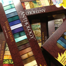Anthology Batik Fabric Batik Story Strips, Quilting, Rollups, Jelly Roll, Strips