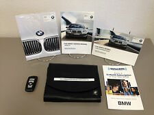 2012 BMW 5 Series Hybrid 528i 535i 550i xDrive OEM Owner Manual + Key FOB Remote