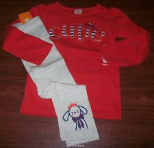 Gymboree Mod About Orange Cutie Tee w/Leggings 2t, 3t, 4t NWT